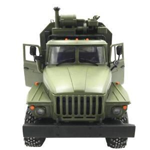 WPL 1:16 RC AUTO 6WD Voiture Militaire Camion Télécommande Alpinisme Véhicule FR
