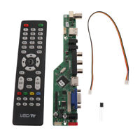 Universal TV Controller Driver Board Supports TV/VGA/HDMI/USB/AV for LCD&LED