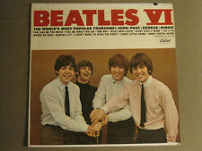 THE BEATLES VI LP ORIG '65 CAPITOL T-2358 MONO RARE ROCK N' ROLL GEM EIGHT DAYS