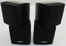 BOSE Doppel-Cube 2 Stück Lautsprecher Schwarz Lifestyle Acoustimass 5 10 15