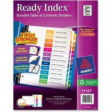 Avery Customizable Toc Ready Index Multicolor Dividers 12 Tab Letter