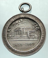 1909 USA NEW YORK Long Island College Hospital 50 Legion Genuine US Medal i80572