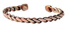 Pure Copper Magnetic Bracelet Jewelry Health Magnets Energy for Mens Womens
