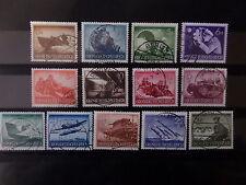 Imperio alemán Wehrmacht-frase 2 nr 873-85 limpias sello de demanda LP (d-18)