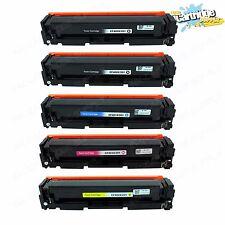 5PK 201X CF400X CF401X CF402X CF403X Toner Set For HP LaserJet M252dw M277n