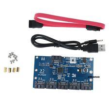 SATA 1 To 5 ports Multiplicateur Extender Adaptateur 3 Gbps SATA Hub dur SATAII Carte De Montage