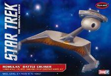 POLAR LIGHTS 897 - STAR TREK ROMULAN BATTLE CRUISER - 1:1000 SCALE MODEL KIT NEW