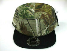 IZ Co - CAMO PRINT 5 Panel Snapback Baseball Cap Hat Camouflage Snap Back