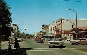 Ukiah,California,Street Scene,Vintage Cars,Mendocino County,Used,1967