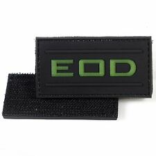 EOD PVC Morale Patch Explosive Ordnance Disposal 3D Badge Hook #28 Paintball