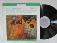 Carl Orff,Carmina Burana,Philadelphia Orchestra,Vinyl lp,Columbia