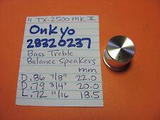 ONKYO 28320237 BASS TREBLE KNOB TX-2500 MK II TX-4500 MK II STEREO RECEIVER