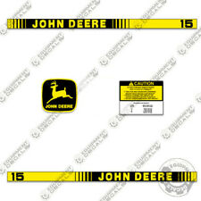 John Deere 15 Decal Kit Lawn Cart Replacement Decals Wagon Sticker Set