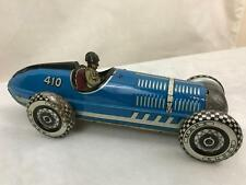 MARX TOY RACER Racing Indy GP Brookland voiture Tin plaque Clockwork friction Wind Up
