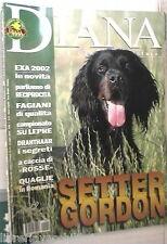 DIANA 14 2002 Pernice rossa Setter gordon Fagiano Quaglie Romania Drahthaar di
