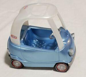 Little Tikes Cozy Coupe Car Pearl Blue RARE Dollhouse Mini Small Toy