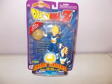 2001 Dragonball Z S.S. Vegeta Irwin Action Figure Energy Blaster Light & Sound