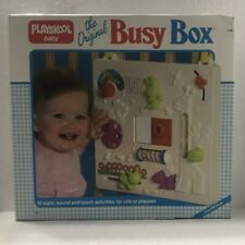 Playschool Baby The Original Busy Box Vintage 1986 NOS