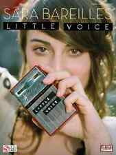 """""""SARA BAREILLES-LITTLE VOICE"""" PIANO/VOCAL/GUITAR MUSIC BOOK BRAND NEW ON SALE!!"""