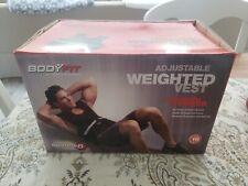 Bodyfit 16 Pound Adjustable Weighted Vest NIB