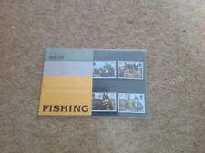 Fishing British Post Office Mint Stamps Presentation Pack.