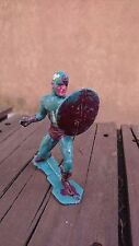 VINTAGE MEXICAN BOOTLEG MARVEL DC COMICS CAPTAIN AMERICA FIGURE -NO MARX- MEXICO