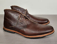 Timberland Wodehouse Burnished Brown Leather Lost History Boot Mens Size 8