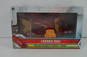 Mecard Launch Rail Mattel Mecardimals New Red Truck Transform Toy