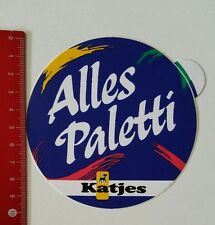 Aufkleber/Sticker: Katjes - Alles Paletti (04021754)