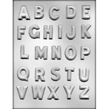 """Complete Alphabet 1-1/4"""" Chocolate Candy Mold CK #14227 New"""