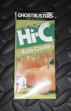 2017 Ghostbusters Limited edition Hi-C Ecto Cooler Juice Box Single Sealed.