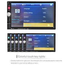 7'' 2DIN Bluetooth HD Screen Car Stereo Radio MP5/MP3 Player FM/USB/AUX on Sale