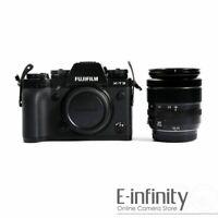 NEW Fujifilm X-T3 Digital Camera + 18-55mm f/2.8-4 R OIS Lens (Black)