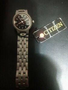 Citizen Women's Watch EL0721-54E Titanium Case Luminous