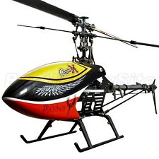 CopterX CX 450 Black Angel Barebone Kit Flybar 3D RC Helicopter Pro