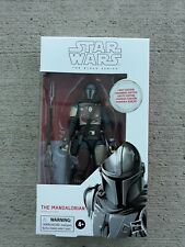New In Box Hasbro Star Wars Black Series The Mandalorian First Edition White Box