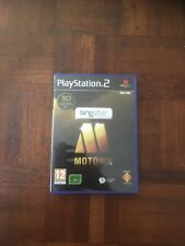 * Sony Playstation 2 Game * SINGSTAR MOTOWN * PS2