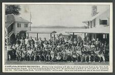 Speculator NY: 1938 Season CAMP-OF-THE-WOODS ORCHESTRA Concerts Program Card