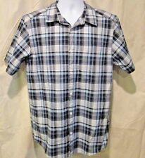 Patagonia Organic Cotton Plaid Button Up Shirt Short Sleeve Men's Large L