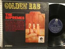 SUPREMES GOLDEN R&B~ORIG 1960s TAIWAN BLACK WAX LP~VG+~LIMING LM-2193~MOTOWN