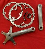 beautiful Campagnolo Campy C-Record crankset 53/42 tooth 172.5mm