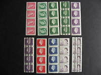 CANADA 10 different MNH coil strips of 4, well worth checking them out!