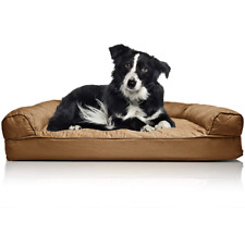 Deluxe Large Orthopedic Dog Couch Bed for Dogs Cats Pet Beds Bedding Sofa New