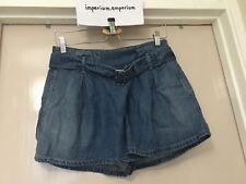 Women's Diesel Janit Calzoncini Blue Denim Shorts Size 26
