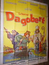 coluche LE BON ROI DAGOBERT  affiche cinema