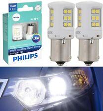 Philips Ultinon LED Light 1156 White 6000K Two Bulbs Stop Brake Rear Replace OE