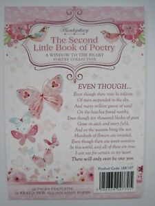 HUNKYDORY THE SECOND LITTLE BOOK OF POETRY - 36 SHEETS