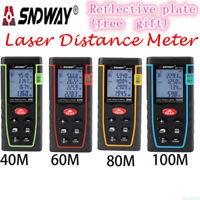 SNDWAY T-40/60/80/100m Laser distance meter measure Range finder Rangefinder NN