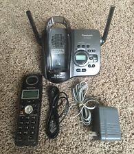 Panasonic Model Kx-Tg5633 5.8Ghz Digital Gigarange Caller Iq Phone & Base Works