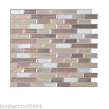 Smart Tiles SM1053-6 SELF-ADHESIVE WALL TILES 6/SHEET MURETTO DURANGO 3.84 sq/ft